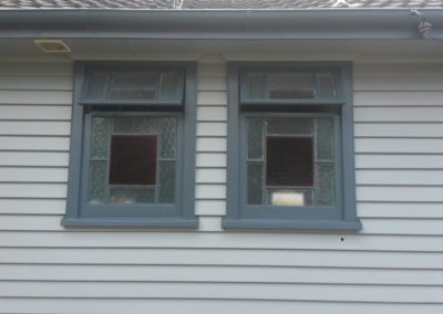 Window repair for led-light windows